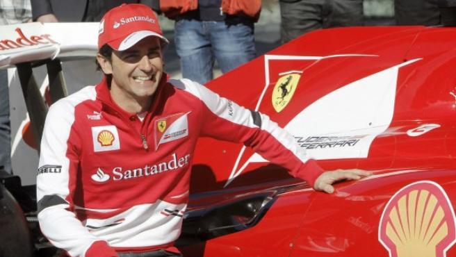 De la Rosa, con la escudería Ferrari.