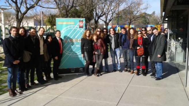 Presentación de Flamenco Viene del Sur 2013