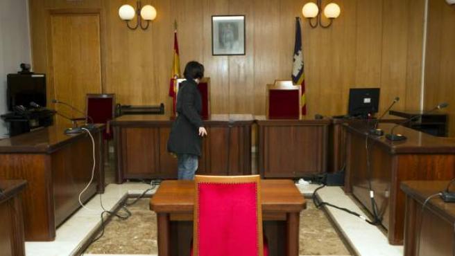 Interior de un juzgado, en una imagen de archivo.