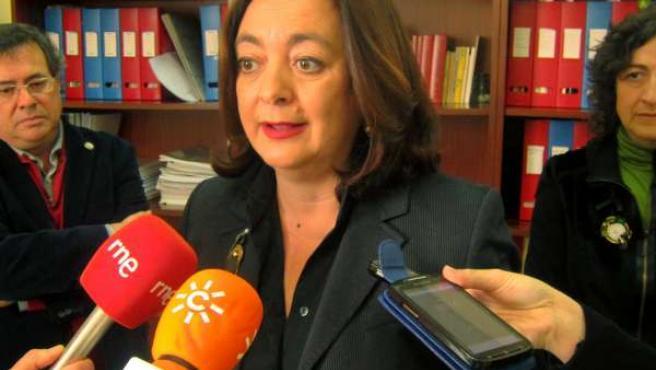 La consejera de Educación de la Junta de Andalucía, Mar Moreno