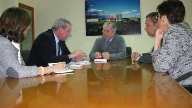 Reunión entre Álvarez de la Chica y Romera, en el PTA