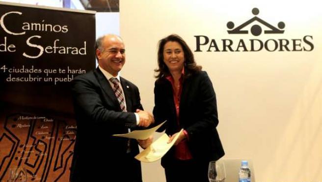 Acuerdo entre Paradores y la Red de Juderías