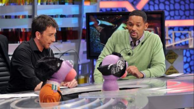 Una imagen del programa 'El Hormiguero', con el actor Will Smith.