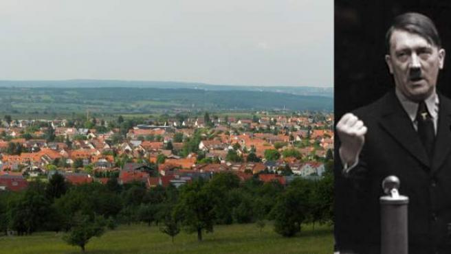 Mössingen (a la izda) secundó la huelga general convocada solo un día después de la llegada de Hitler al poder.