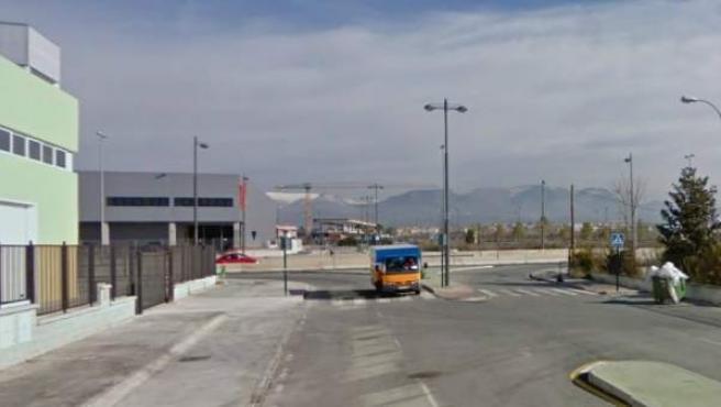 Polígono de La Paz, a las afueras de Granada