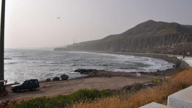 Piscinas de la playa La Laja, en Las Palmas de Gran Canaria