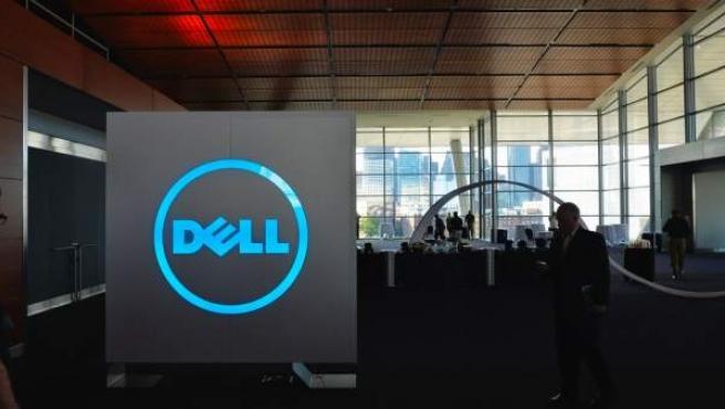Logotipo de la empresa tecnológica Dell.
