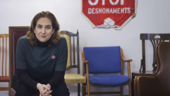 Ada Colau, portavoz de la Plataforma de Afectados por la Hipoteca (PAH).