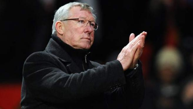 El exentrenador del Manchester United, Alex Ferguson.