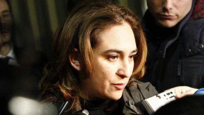 Ada Colau, portavoz de la PAH.