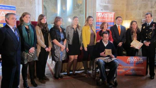 Acto de entrega de los Premios de Avata Hispania.