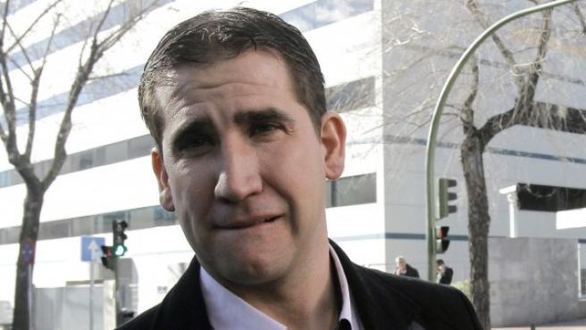 Jesús Manzano acude al juicio por la Operación Puerto.