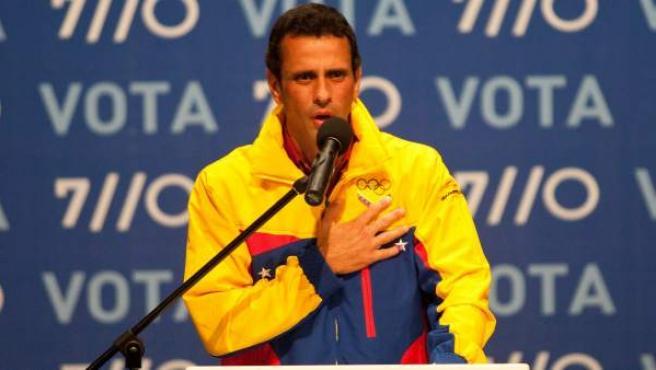 Henrique Capriles, el líder opositor venezolano.