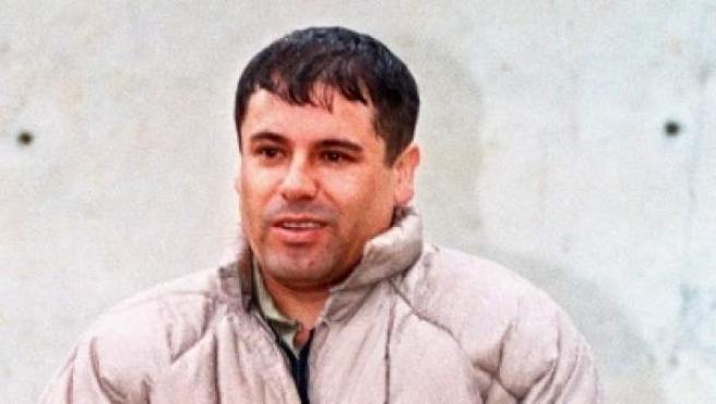 Joaquín Guzmán Loera, 'El Chapo' en la prisión de Almoloya de Juárez, el 10 de junio de 1993.