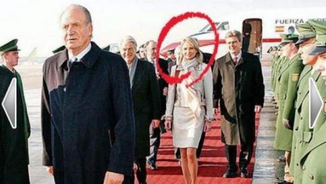 Corinna y el rey Juan Carlos.