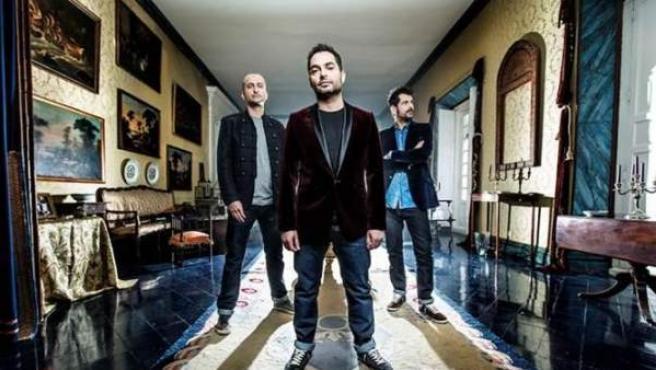 Imagen promocional de la banda gibraltareña Taxi.