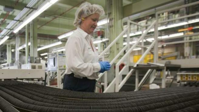 Una mujer trabajadora, en una imagen de archivo.
