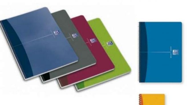 Captura de un catálogo de cuadernos.