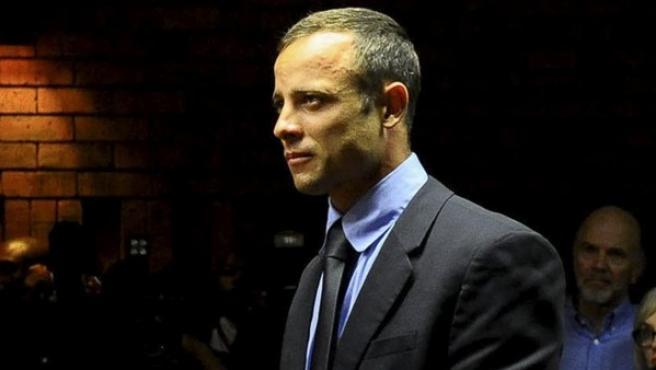 El atleta paralímpico Óscar Pistorius, acusado del asesinato de su pareja.