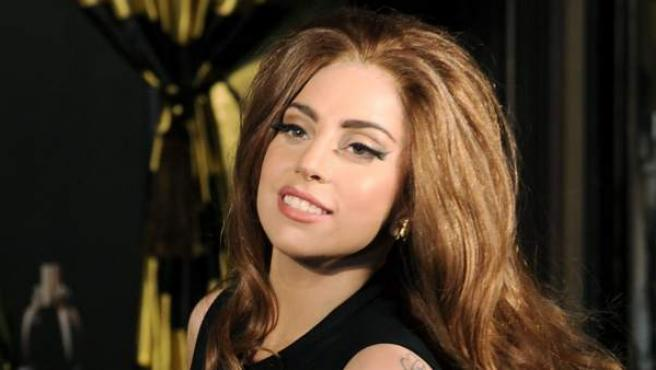 Lady Gaga en octubre de 2012.