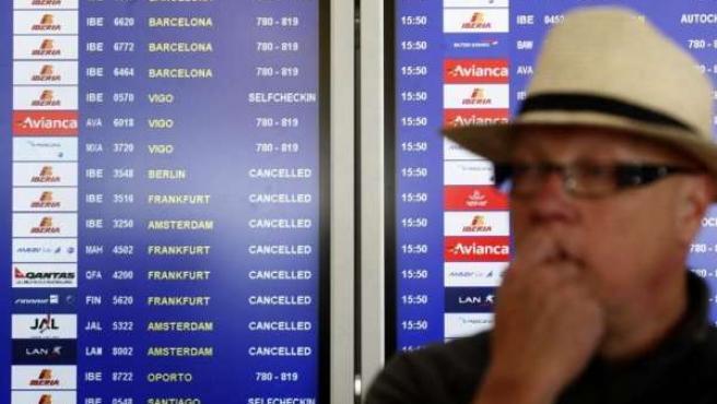 Vuelos cancelados en Barajas