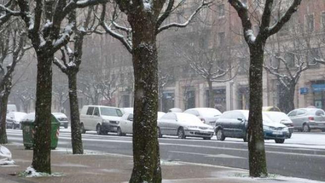 Nieve En San Sebastián