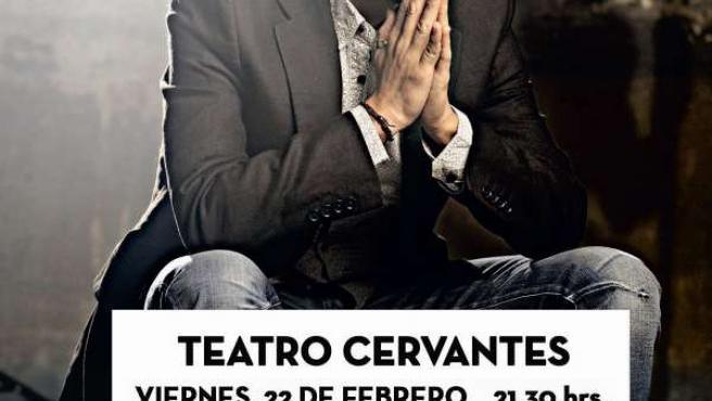 El cartel del concierto del cantaor Arcángel