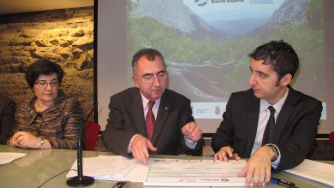 Acto de firma de la Carta Europea de Desarrollo Sostenible