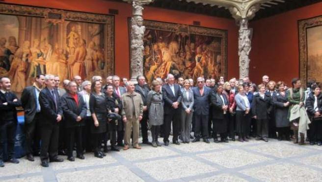 Los representantes de las 61 iniciativas seleccionadas en Zaragoza