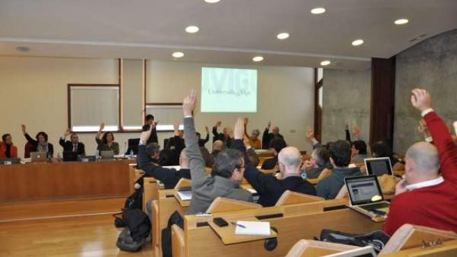 Vigo Foto Consello Universidade