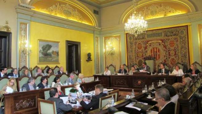 Pleno Del Ayuntamiento De Lleida