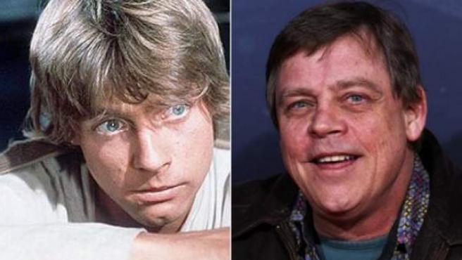Mark Hamill encarnó a Luke Skywalker en los tres primeros episodios de 'Star wars'.