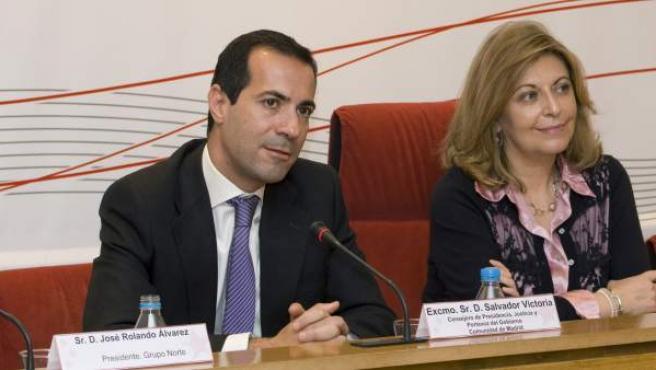 Salvador Victoria, consejero de Presidencia y Justicia y portavoz de la Comunidad de Madrid.