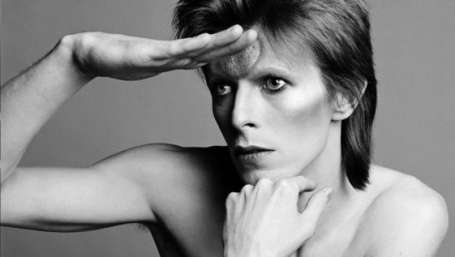 Uno de los muchos retratos de Sukita a Bowie. Éste es de 1973