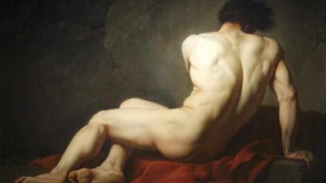 'Patroclo' (1780), óleo de Jacques-Louis David, uno de los más famosos pintores neoclásicos