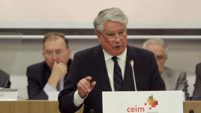 El vicepresidente de la patronal CEOE y presidente de los empresarios de Madrid, en una imagen de archivo.