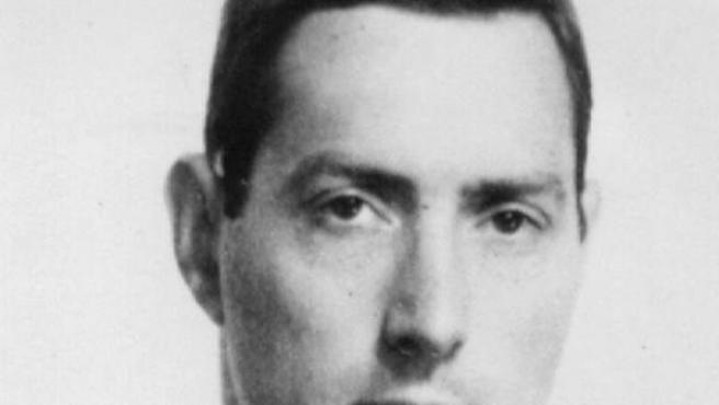Foto antigua de Bruce Reynolds, considerado el 'cerebro' del famoso asalto al tren de Glasgow (Reino Unido) en 1963, en Londres. Reynolds ha fallecido a los 81 años.