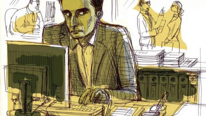 Hervé Daniel Marcel Falciani, en la ilustración, extrabajador del banco suizo HSBC.