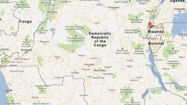 Un avión se estrella en Goma, al este de la República Democrática del Congo