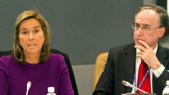 Mato, junto al representante permanente de España en la ONU, Fernando Arias.