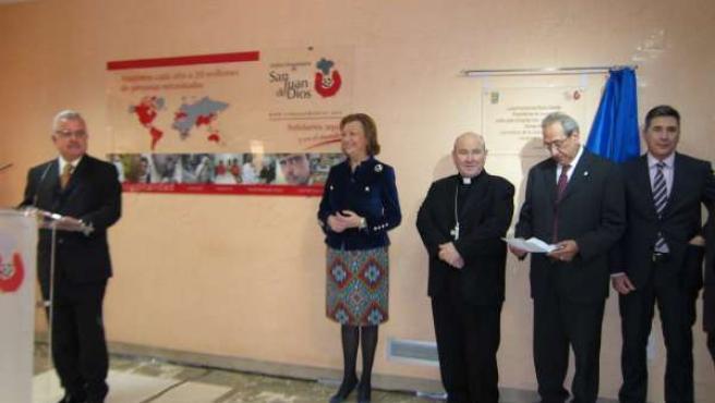 Rudi en el 60 aniversario del Hospital San Juan de Dios de Zaragoza