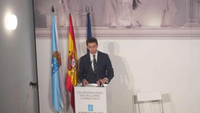 Alberto Núñez Feijóo participa en el acto del Día Internacional de la Mujer