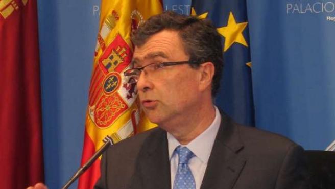El portavoz del Gobierno murciano, José Ballesta