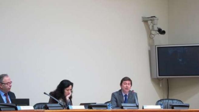 Manuel Galdo en el Parlamento