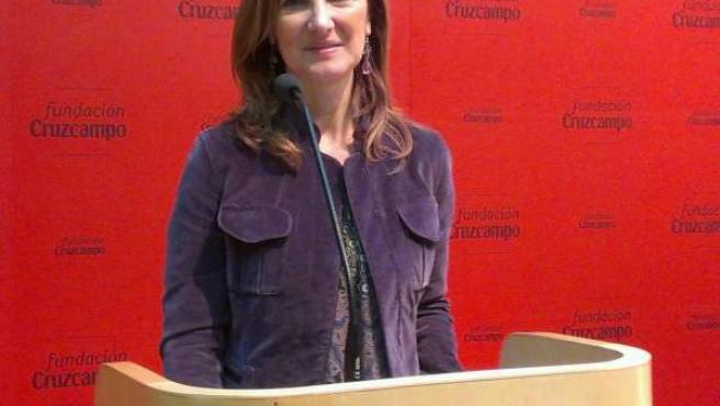 La vicesecretaria de Territorio del PP-A, Alicia Martínez, hoy en Sevilla