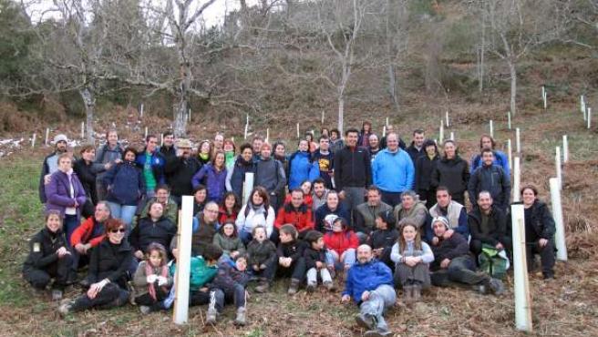 Voluntarios ambientales de Provoca