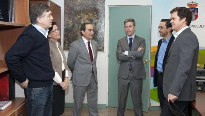 Reunión de Serna con los galeristas
