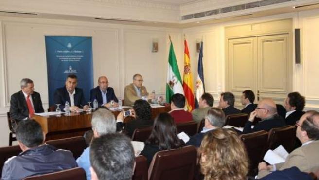 Presentación del Pacto Andaluz por el Turismo en Jerez