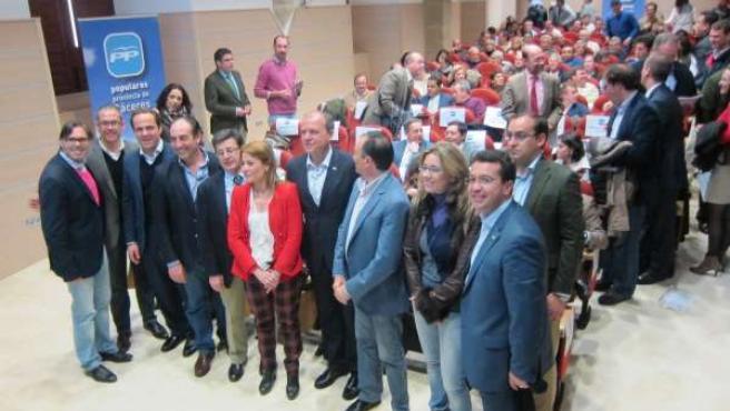 I Foro De Alcaldes Del PP En Cáceres Con La Asistencia De Monago