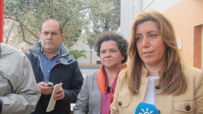 La consejera de Presidencia e Igualdad, Susana Díaz